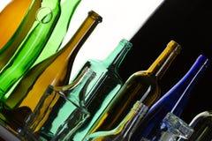 Kolekcj butelki Obrazy Royalty Free