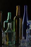 Kolekcj butelki Obraz Stock