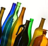 Kolekcj butelki Fotografia Stock