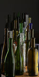Kolekcj butelki Obrazy Stock