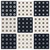 Kolekcja bezszwowi geometryczni wzory Fotografia Stock