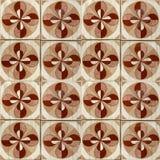Kolekcja brązów wzorów płytki Zdjęcie Royalty Free