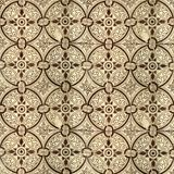 Kolekcja brązów wzorów płytki Zdjęcia Stock