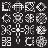 Kolekcja Celtyccy kępka projekty w Wektorowym formacie ilustracji