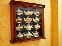 Kolekcja dekoracyjnego klasycznego projekta herbaciany garnek Zdjęcia Stock
