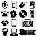 Fotografia i środek ikony. Obrazy Stock