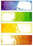 Kolekcja grunge sztandary Obraz Stock