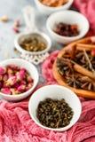 Kolekcja herbata zdjęcie royalty free
