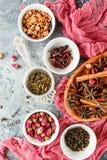 Kolekcja herbata obrazy royalty free