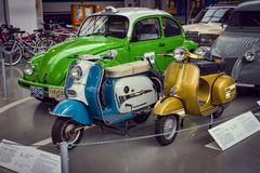 Kolekcja historycznie zna Monachium i pojazdy Odtransportowywa Muzealnego Deutsches muzeum Verkehrszentrum fotografia royalty free