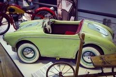Kolekcja historycznie zna Monachium i pojazdy Odtransportowywa Muzealnego Deutsches muzeum Verkehrszentrum zdjęcie royalty free