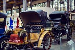 Kolekcja historycznie zna Monachium i pojazdy Odtransportowywa Muzealnego Deutsches muzeum Verkehrszentrum obraz royalty free