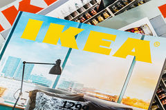 Kolekcja IKEA katalogi 2014 fotografia stock