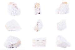 Kolekcja kamienna kopalina Talkował Obraz Stock