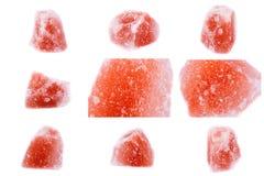 Kolekcja kamienny kopalny Saltstone orthopase Zdjęcie Stock