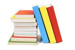 Kolekcja kolorowe książka w miękkiej okładce książki Fotografia Royalty Free