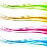 Kolekcja kolorowi jaskrawi sieć chodnikowa stopki dividers Fotografia Royalty Free