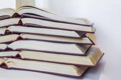 Kolekcja książki Zdjęcia Royalty Free