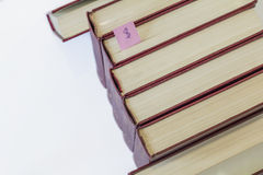 Kolekcja książki Obraz Stock