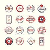 Kolekcja loga i odznaki wektory ilustracja wektor