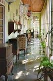 Kolekcja Menezes Braganza Pereira dom, India zdjęcia royalty free
