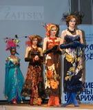 kolekcja modeluje slava zaitsev Zdjęcie Stock
