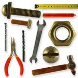 Kolekcja narzędzia Obrazy Stock