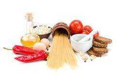 Kolekcja naturalni produkty Obraz Stock