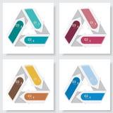 Kolekcja numerowy sztandaru szablon Zdjęcie Stock