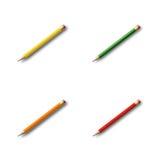 kolekcja ołówek Obrazy Stock