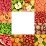 Kolekcja owoc, warzywa i ziele, Fotografia Stock