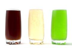 kolekcja pije miękką część Zdjęcia Stock