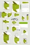 Kolekcja projektów elementy dla biznesu, reklamy lub unaocznienia korporacyjnej tożsamości, Zdjęcia Royalty Free