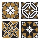 Kolekcja roczników Ornamentacyjni wzory royalty ilustracja