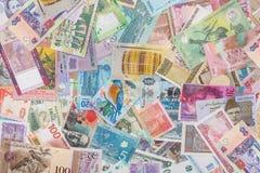 Kolekcja rozmaitość banknoty i waluta Zdjęcie Royalty Free