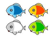 Kolekcja ryba royalty ilustracja