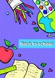 Kolekcja szkolni tematy Zdjęcia Stock