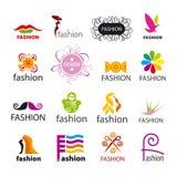 Kolekcja wektorowa logo moda ilustracji
