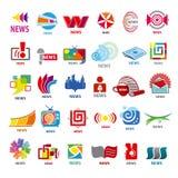 Kolekcja wektorowa logo wiadomość royalty ilustracja