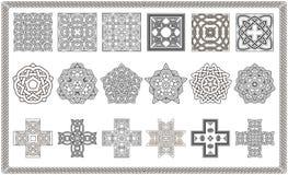 Kolekcja wzory dla projekta 2015 Obraz Stock