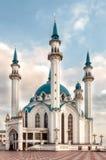 Kolen Sharif Mosque i den Kazan Kreml, Tatarstan i Ryssland royaltyfri fotografi