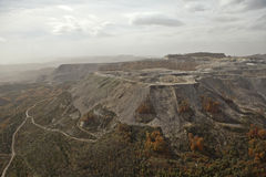 Kolenmijn Appalachia stock fotografie