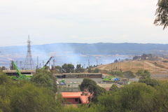 Kolenmijnbrand Stock Foto's