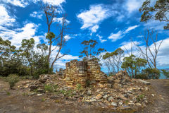 Kolenmijnen in Tasmanige Stock Afbeelding