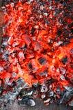 kolförbränning Royaltyfri Bild