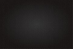 Kolfiberbakgrund, svart textur Royaltyfri Bild