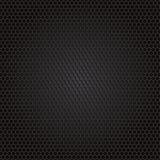 Kolfiberbakgrund, svart textur Arkivbilder