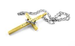 Kolia, breloczka krzyż Fotografia Stock