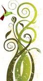 koliber kwiecisty sztuki Zdjęcie Royalty Free