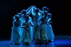 Kolibri舞蹈团音乐会,米斯克,白俄罗斯 免版税库存照片
